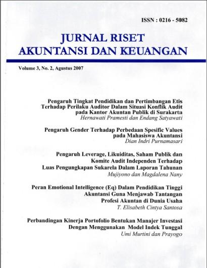 JRMB Vol 3 No 2, 2007